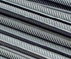 High strength deformed steel bars and wires for concrete reinforcement