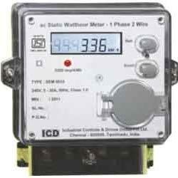 AC static watt-hour meters, class 1 and 2