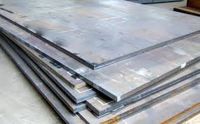 Steel plates for pressure vessels used at moderate and low temperature