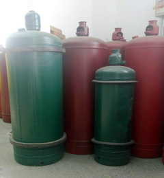Welded low carbon steel cylinders exceeding 5 litre Water capacity for low pressure liquefiable gases Part 4 Cylinders for toxic and corrosive gases